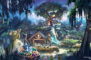 スプラッシュ・マウンテンが『プリンセスと魔法のキス』に ディズニーがリニューアル計画を発表