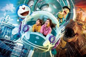 USJ「『STAND BY ME ドラえもん 2』XRライド」8/4〜翌1/6導入