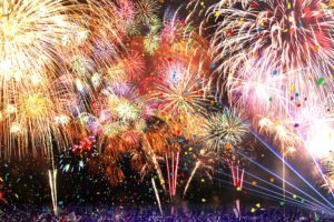 ハウステンボス、カウントダウン花火を今年も開催