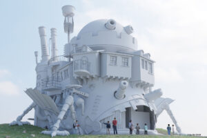 「ジブリパーク」ハウルの城やもののけ姫タタラ場の内容・CGパースを公開