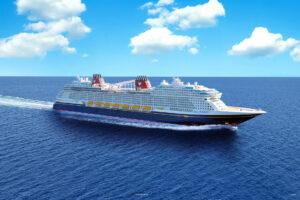 ディズニークルーズライン新客船「ディズニー・ウィッシュ号」コンテンツを公開