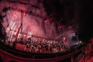 西武園ゆうえんち、夏の花火ショー「大火祭り」を公演